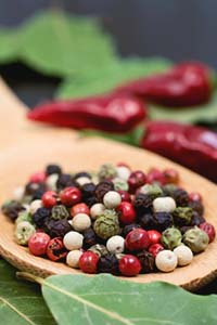 Black Pepper Oil as a Warming Energizer and Analgesic